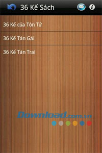 36 kế tán gái for Android