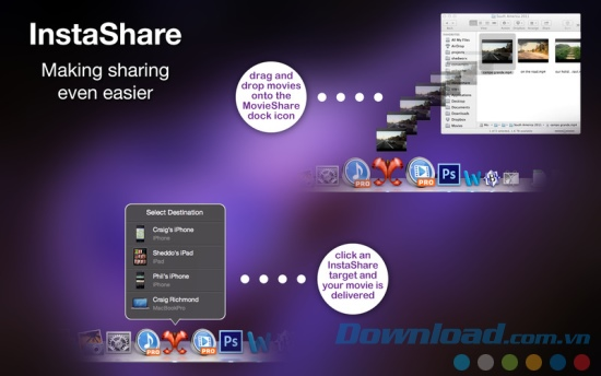 MovieShare for Mac