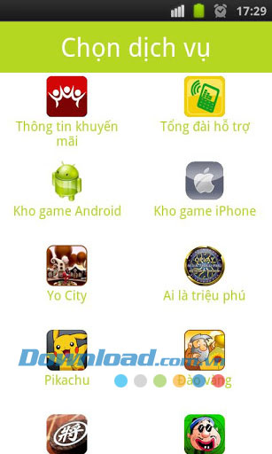 Tiện ích Mobile for Android