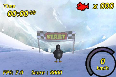 Penguin Skiing 3D For Android