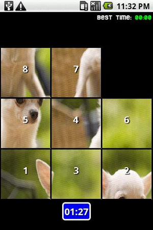 Puppies Puzzle For Android