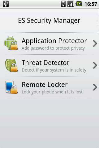 ES Security Manager for Android