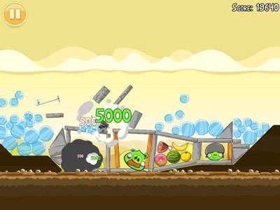 Angry Birds HD Free for iPad