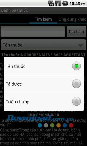 Danh bạ thuốc for Android