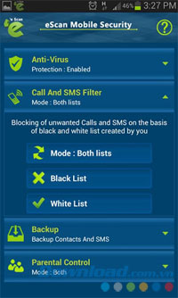 eScan Mobile Security for Android