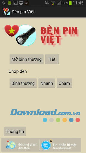 Đèn pin Việt for Android