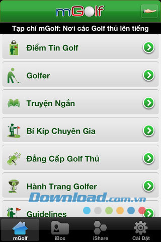 mGolf 2012 for iOS