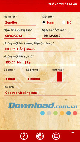 Tra cuu phong thuy for iOS