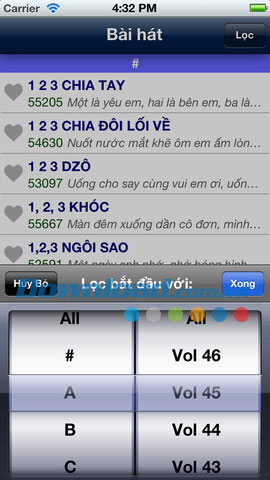 Karaoke Lyrics for iOS