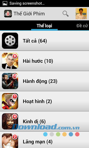 Thế Giới Phim - Movie World for Android