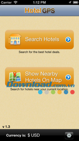 Hotel GPS for iOS