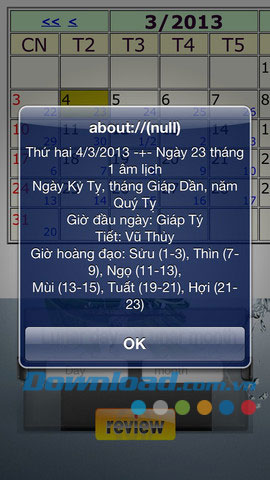 KhongMinh Calendar for iOS