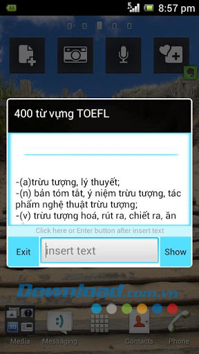 400 từ vựng TOEFL for Android