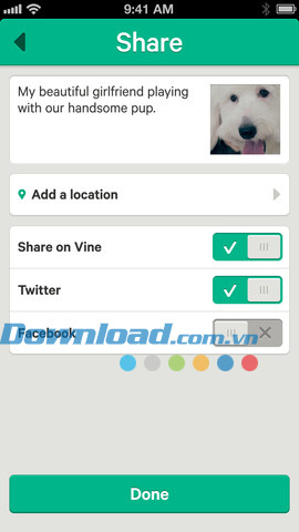 Vine for iOS