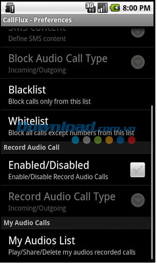 CallFlux for Android