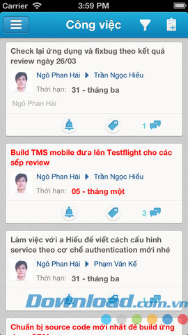 AMIS TMS for iOS