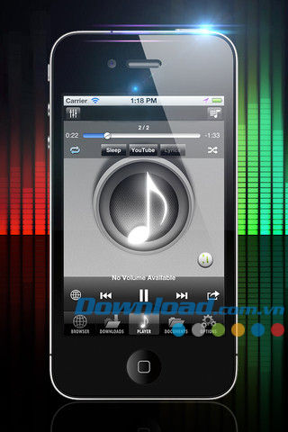 Free Music Download Player for iOS
