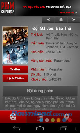 Phim chiều rạp for Android