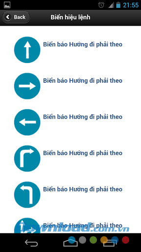 Biển báo giao thông for Android