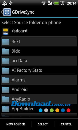GDriveSync for Android
