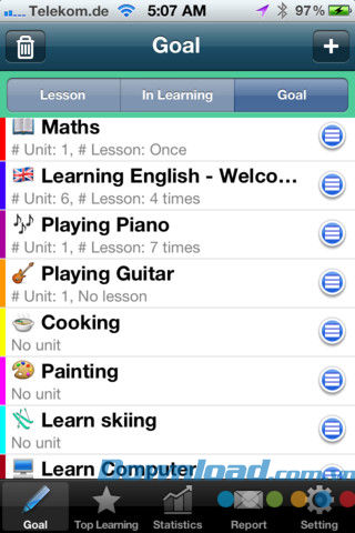 Learning Diary Free for iOS