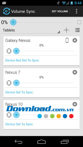 Volume Sync for Android