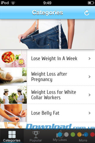 Lose weight not lose mind for iOS