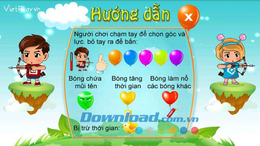Bắn bóng bay for Android