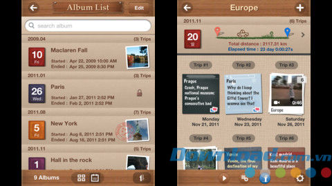 Travel Album Lite for iOS