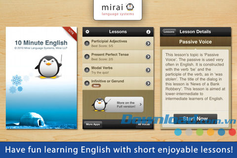 10 Minute English Lite for iOS