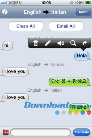 Translate Mobile for iOS