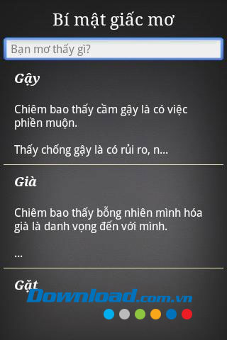 Bí mật giấc mơ for Android
