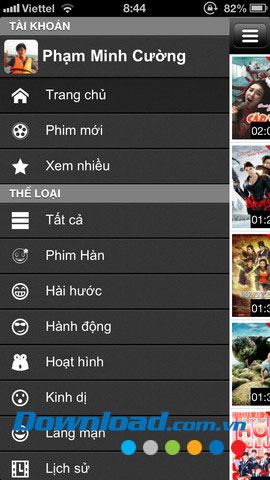 Thế giới phim for iOS