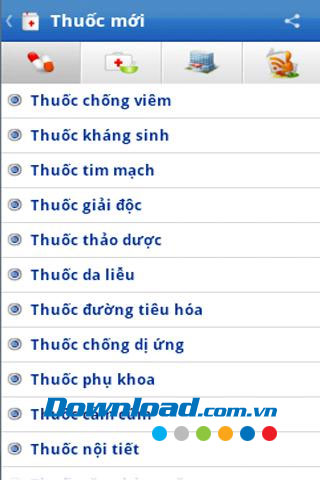 Thuốc mới for Android