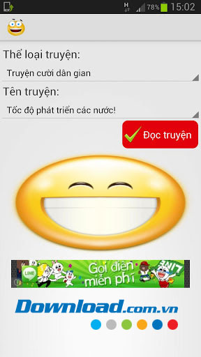 Truyện cười for Android