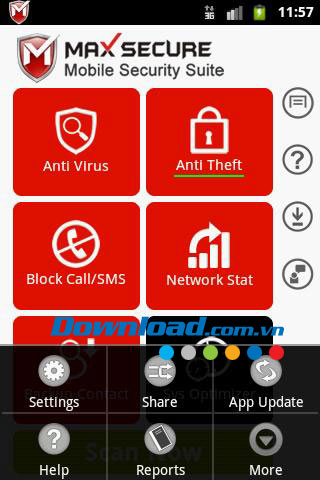 Max Mobile Security for Android