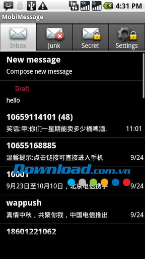 MobiMessage for Android