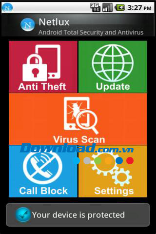 Netlux Mobile Security for Android