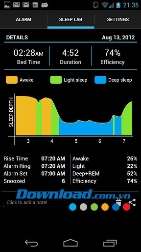 Sleep Time for Android