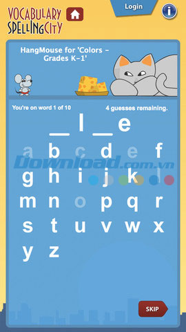 Spelling City for iOS
