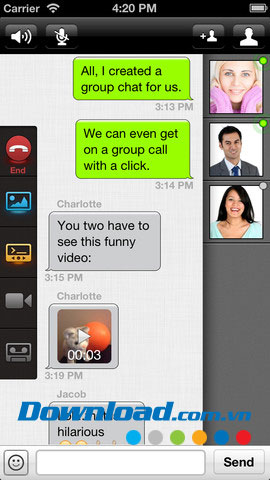 Talkray for iOS