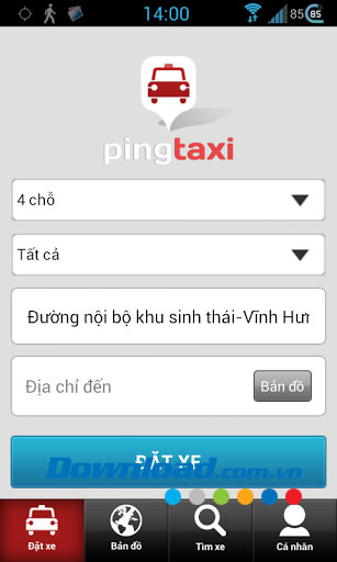 Pingtaxi Client for Android