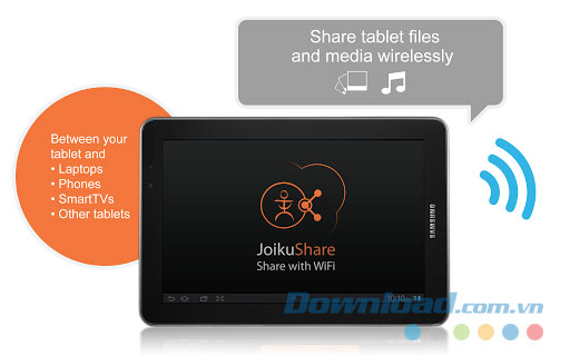 JoikuShare WiFi Air Share Free for Android