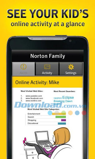 Norton Online Family For Android