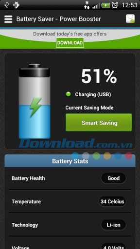 Battery Saver - Extra Power for Android