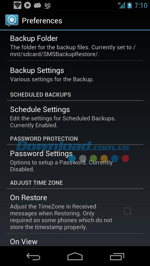 SMS Backup & Restore For Android