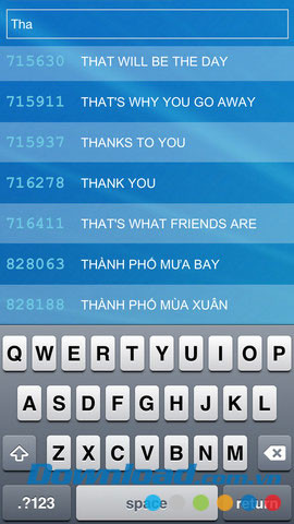 Karaoke List California 6 số for iOS