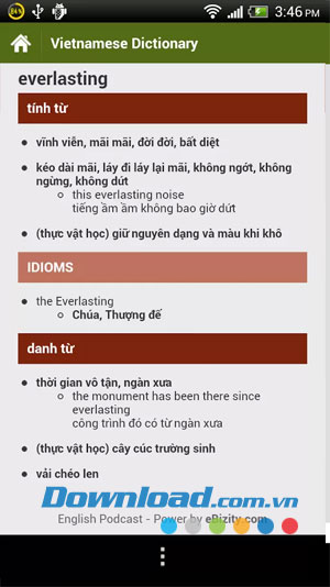 Luyện nghe tiếng Anh for Android