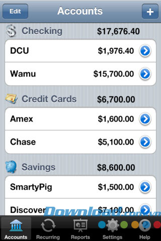 Checkbook+ Free for iOS