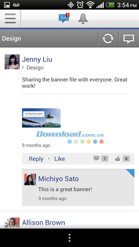 Yammer for Android